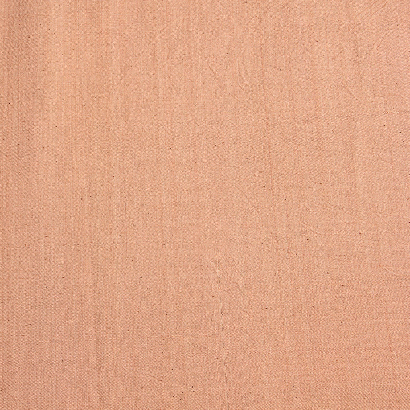 Dusty Peach Handwoven Natural Dyed Fabric