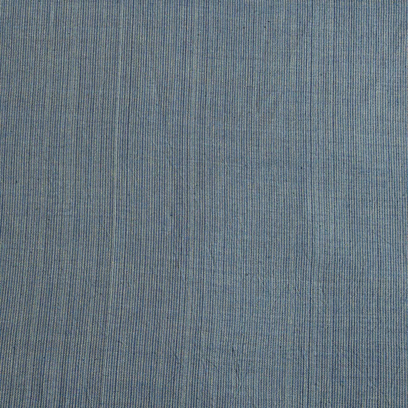 Greyish Blue Handwoven Natural Dyed Fabric