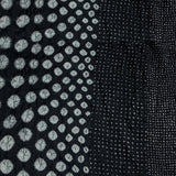 Dark Grey Bandhej Cotton Fabric (4.7meters)