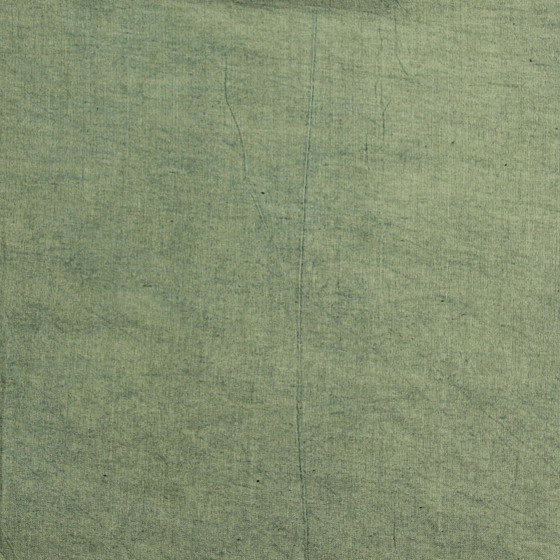 Mul Green Plain Fabric