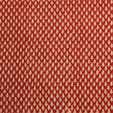 Red Small Butti Block Printed Cotton Fabric
