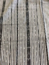Grey Ikkat Fabric