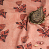Tulip Flower Block Print Fabric