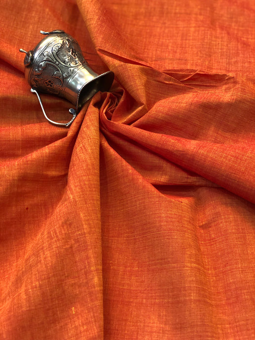 Mangalgiri Orange Fabric