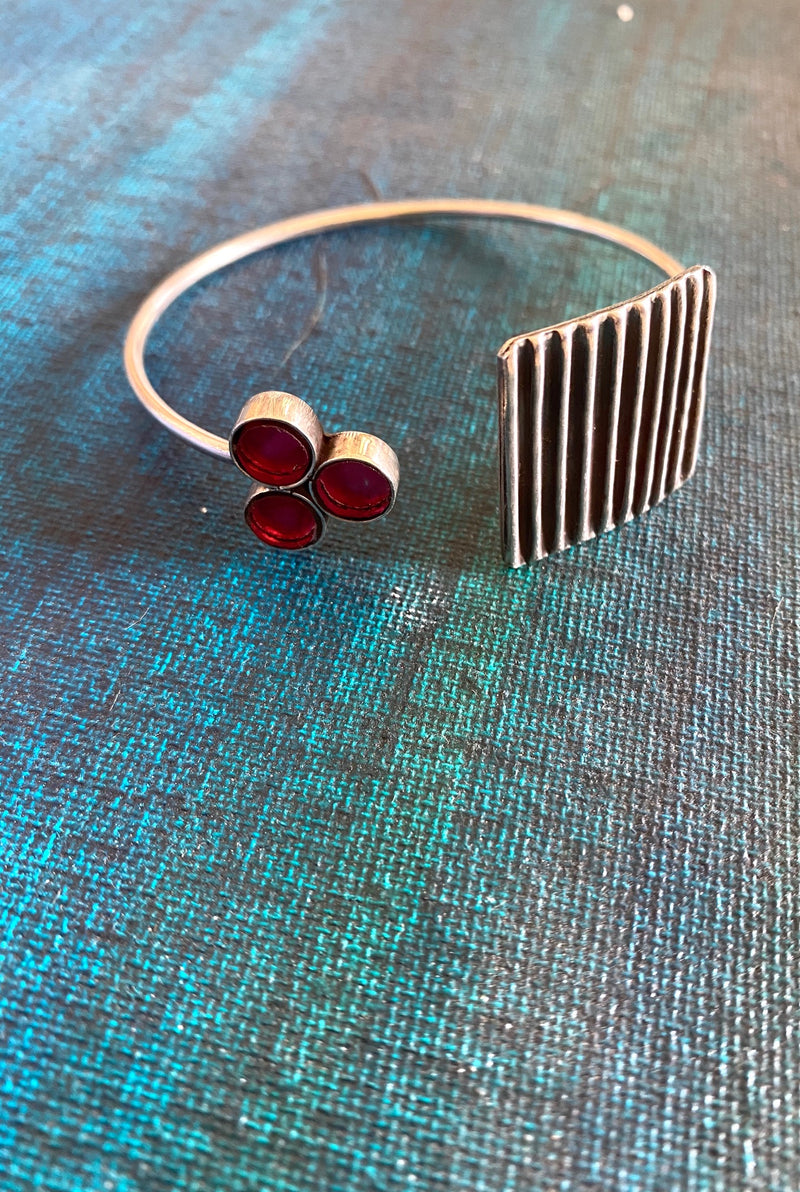 Striped Square Cuff