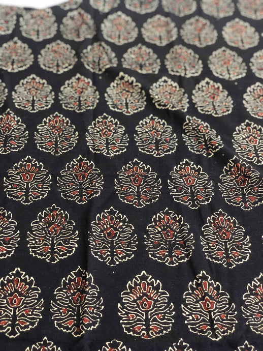 Ajrakh Blouse Fabric (0.95meter)