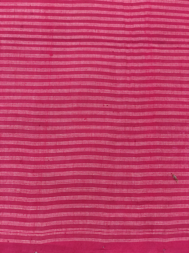 Mangalgiri Pink Stripes Fabric