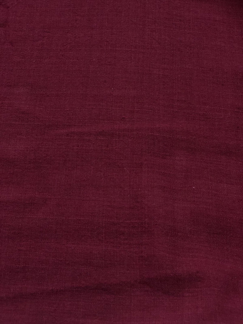 Madder Natural Dyed  Plain Fabric