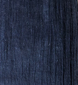 Deep Blue Hand Spun Handwoven Natural Dyed Fabric