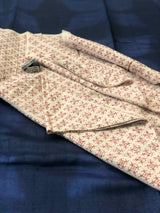 Beige Cotton Blouse Piece (1 meters)