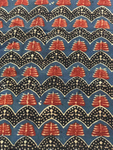 Temple Block Print Fabric (1.6m)
