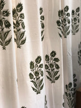 Tulip Organic Cotton Short Window Curtain