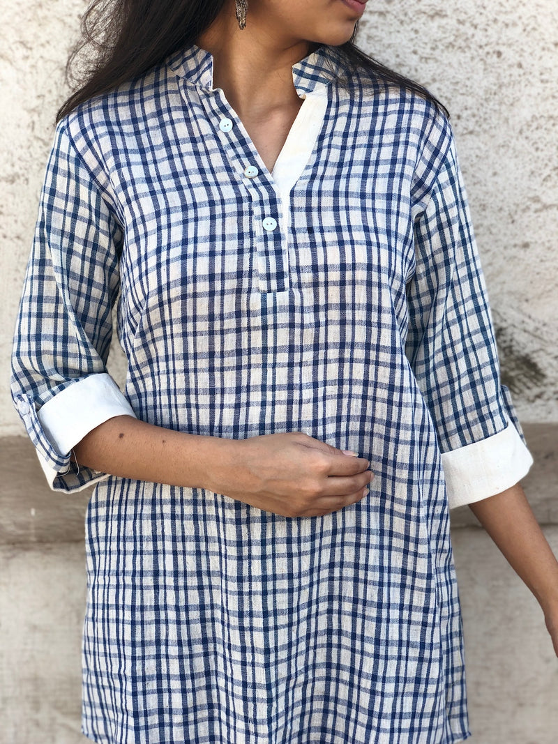 Handwoven Checked Shirt