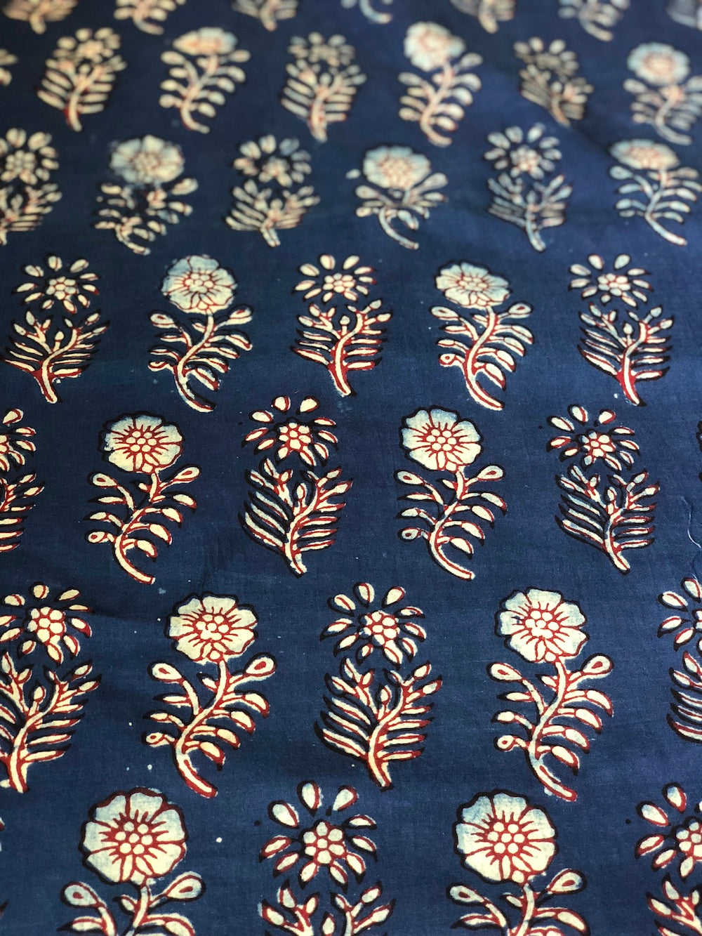 Maalti Indigo Cotton Fabric