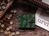 Handmade Henna Cotton Unisex Wallet
