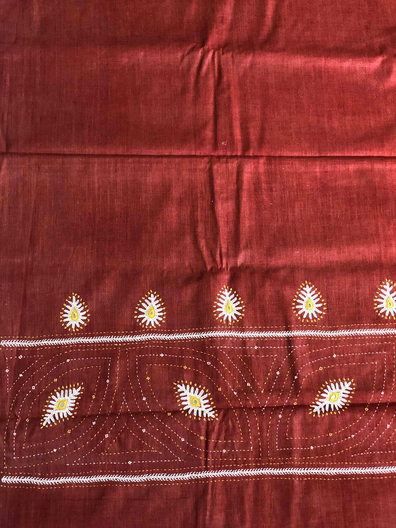 BrownHand Work Kurta Fabric (2.30m)