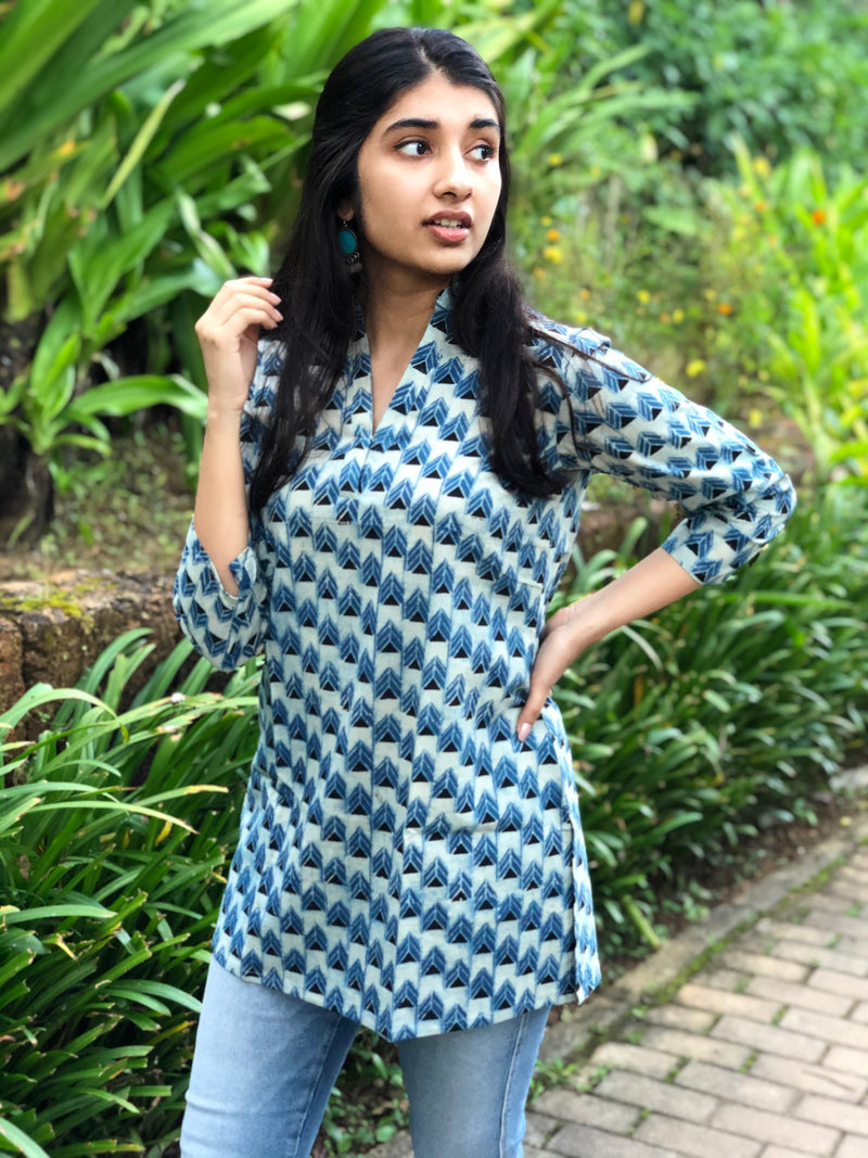 Anvi Short Cotton Kurta
