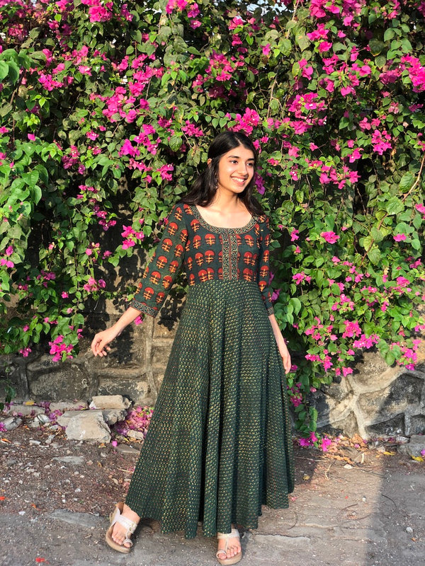 Jhanvika Henna Ghera Dress