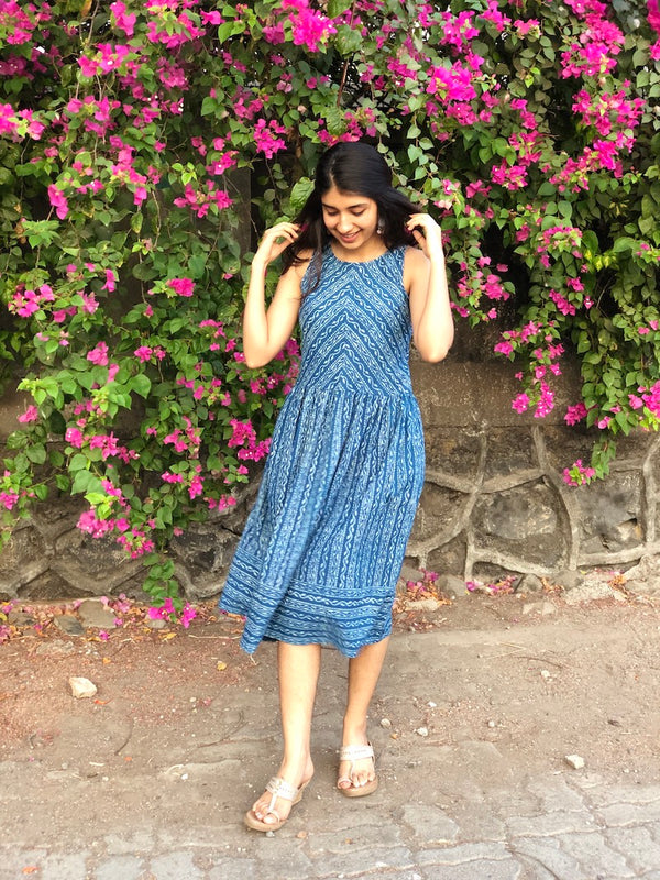 The Little Indigo Dress