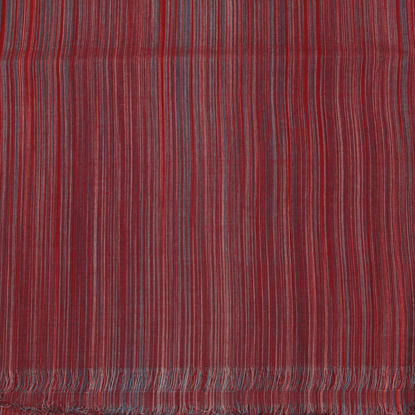 Handwoven Striped Cotton Fabric