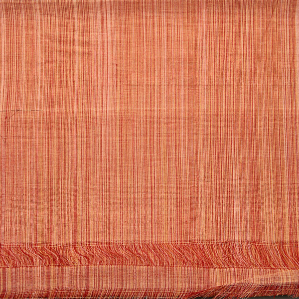 Handwoven Vertical Striped Cotton Fabric