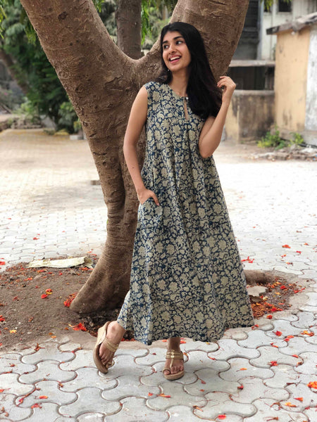 Tabu Kalamkari Midi Dress