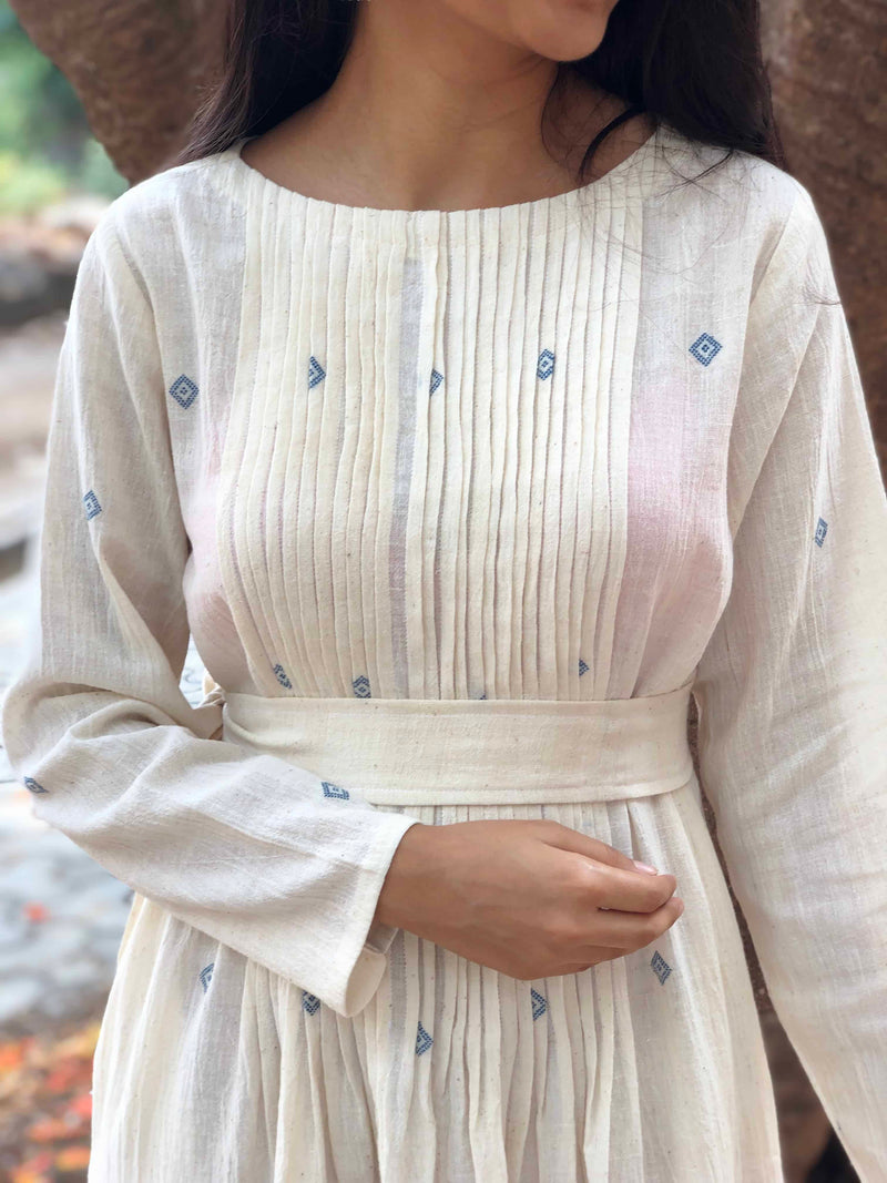 Ruhani Kala Cotton Dress