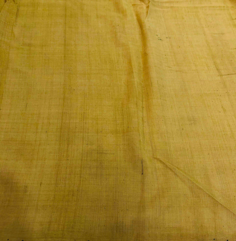 Beige Colour Natural Dye Fabric