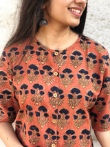 Kesariya Dahlia Shirt Dress
