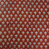 Bagru Phool Cotton Fabric