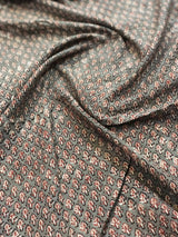 Grey Pharad Butti Blouse Fabric (0.75m)
