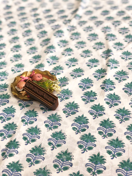 Leela Kamal Cambric Cotton Fabric