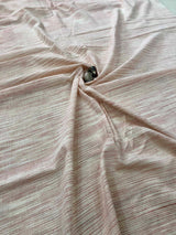 Natural Space dying hand woven Fabric