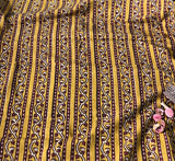 Balotra Traditional Mustard BorderCotton Fabric