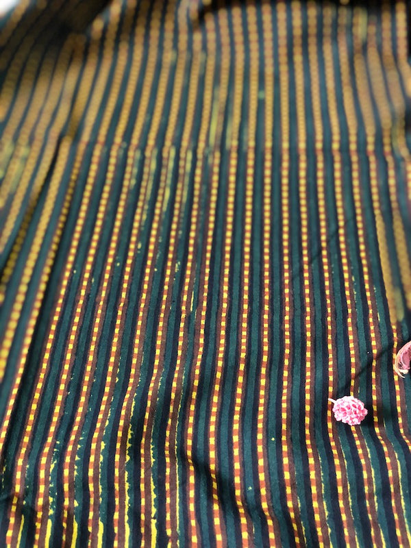 Balotra Traditional Striped Fabric