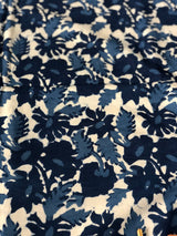 English Garden Block Printed Cotton Fabric