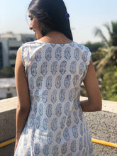 Kalamkari Sleeveless Slip Dress