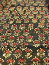 Green Taaj Butti Fabric