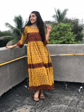 Mustard Madder Gather Dress