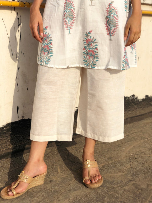 Cropped Mulkha Pants