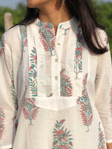 Mul Cotton Short Kurta