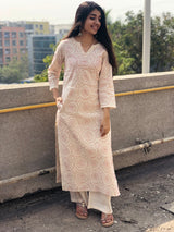 Bhatigal Hand Embroidered Kurta