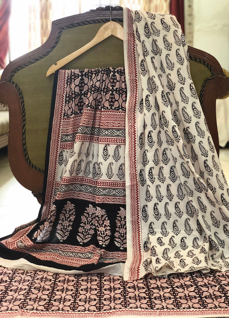 Bagh Keri Butti Cotton Suit Set