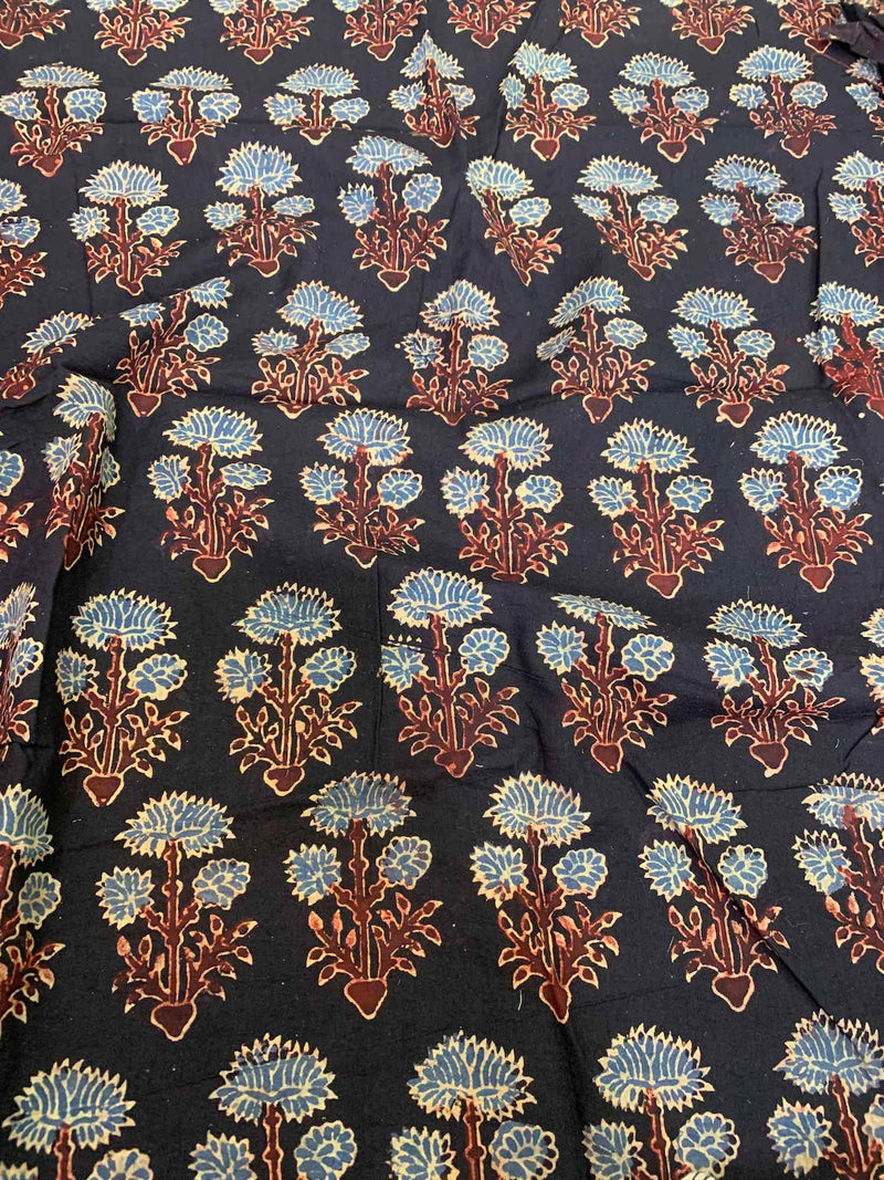 Black Dahlia Sleeveless Blouse Fabric (.7 meter)