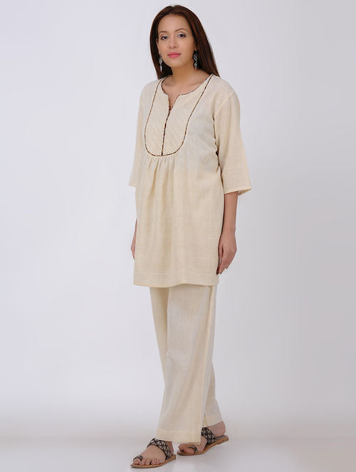 Ivory Kala Cotton Tunic