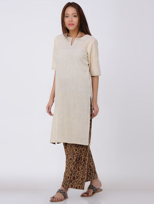 Ivory Kala Cotton Kurta
