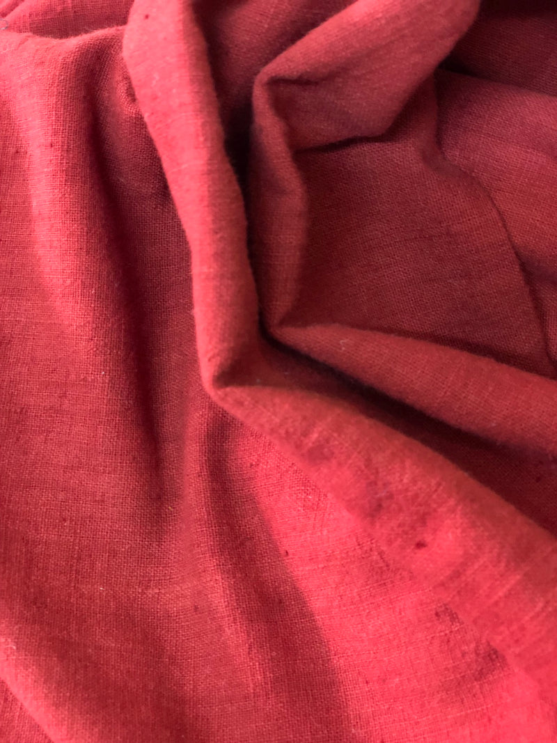Natural dye Handwoven Cotton Fabric