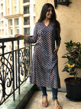 Indigo Pharaad Long Kurta