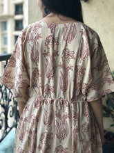 Hand Block Paan Printed Mul Cotton Dress