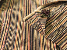 Kalamkari Stripes Cotton Fabric